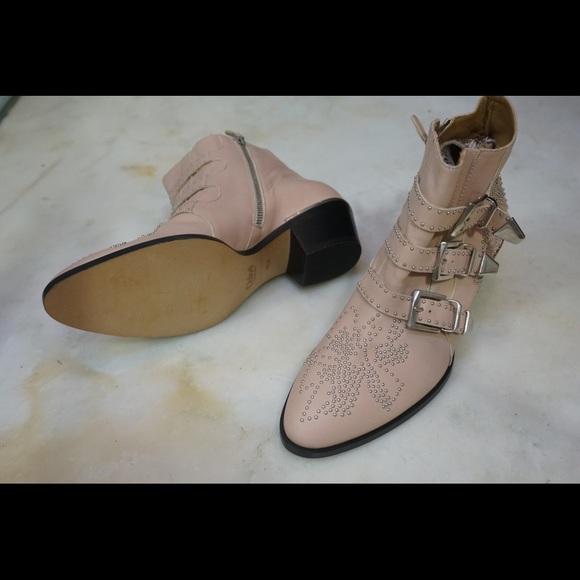 04d8595ff6d Chloe Shoes | Nib Susanna Pink Ankle Boots Eu 40 12 | Poshmark